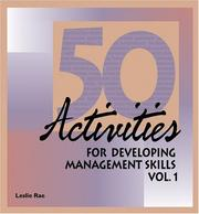 Cover of: Fifty Activities for Developing Management Skills