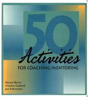 Cover of: Fifty Activities for Coaching-Mentoring