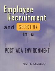 Cover of: Employee Recruit.& Secect Post