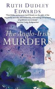 Cover of: The Anglo-Irish murders