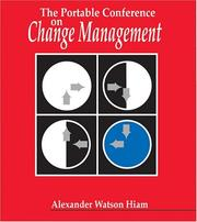 Cover of: The Portable Conference on Change Management