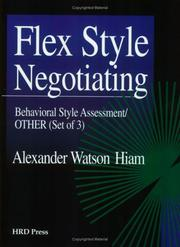 Cover of: Flex Style Negotiating Assessment Set