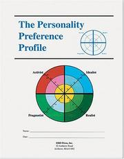 Cover of: The Personality Preference Profile (Packet of 5)