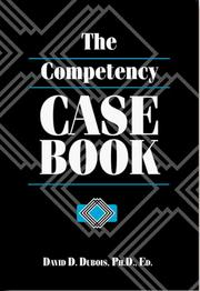 Cover of: The Competency Casebook