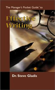 Cover of: The manager's pocket guide to effective writing