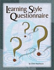 Cover of: Learning Style Questionnaire