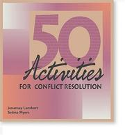 Cover of: 50 Activities for Conflict Resolution