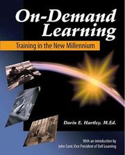 Cover of: On-Demand Learning