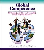 Cover of: Global Competence: 50 Training Activities for Succeeding in International Business