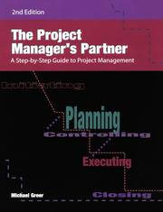 The Project Manager's Partner by Michael Greer