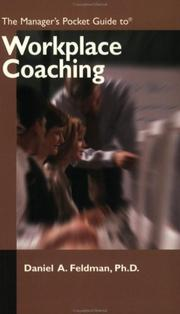 Cover of: The Manager's Pocket Guide to Workplace Coaching