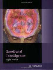 Cover of: Emotional Intelligence Style Profile Paper-Based Instrument: Packet of 5