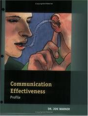 Cover of: Communication Effectiveness Profile: Packet of 5