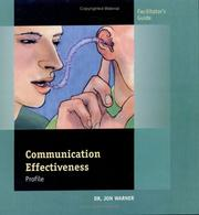 Cover of: Communication Effectiveness Profile Facilitator's Guide