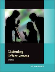 Cover of: Listening Effectiveness Profile:  Packet of 5