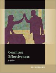 Cover of: Coaching Effectiveness Profile: Packet of 5
