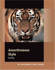 Cover of: Assertiveness Profile Assessment: Packet of 5