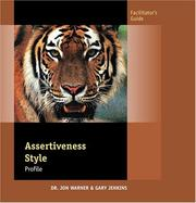 Cover of: Assertiveness Style Profile (Facilitator's Guide)