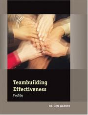 Cover of: Teambuilding Effectiveness Profile