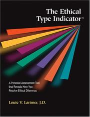 Cover of: The Ethical Type Indicator (Packet of 5)