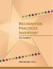 Cover of: Recognition Practices Inventory for managers