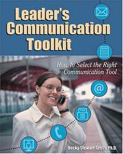 Cover of: Leaders Communication Toolkit