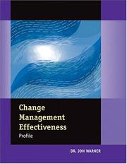 Cover of: Change Management Effectiveness Profile (Set of 5 Assessments)