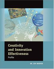Cover of: Creativity & Innovation Effectiveness Profile Facilitators Guide