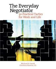 Cover of: The everyday negotiator