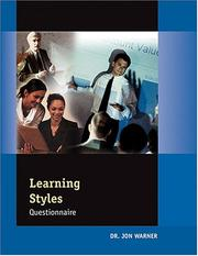 Cover of: Learning Styles Profile (5 Pack of Assessments)