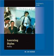Cover of: Learning Styles Questionnaire Facilitation Guide