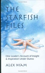 Cover of: The Starfish Files