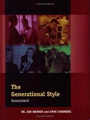 Cover of: Generational Style Assessment: Pack of 5