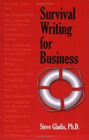 Cover of: Survival writing for business