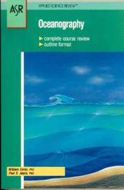Cover of: Oceanography