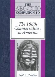 Cover of: The ABC-CLIO companion to the 1960s counterculture in America
