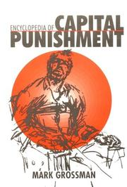 Cover of: Encyclopedia of capital punishment