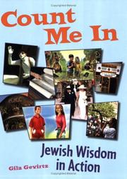 Cover of: Count Me In: Jewish Wisdom In Action