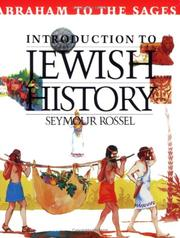 Cover of: Journey through Jewish history