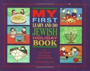 Cover of: My First Learn and Do Jewish Holiday