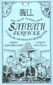 Cover of: All you want to know about Sabbath services