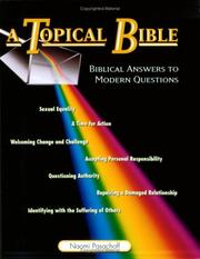 Cover of: A topical Bible