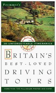Cover of: Frommer's Britain's Best-Loved Driving Tours