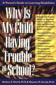 Cover of: Why is my child having trouble at school?