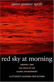Cover of: Red Sky at Morning by James Gustave Speth