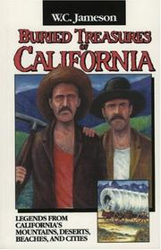 Cover of: Buried treasures of California | W. C. Jameson