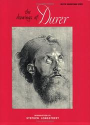 Cover of: Drawings of Durer (Master Draughtsman)