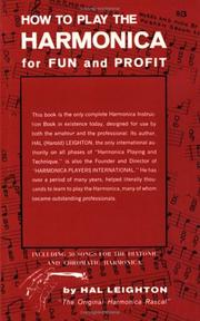 Cover of: How to Play the Harmonica for Fun and Profit | Hal Leighton