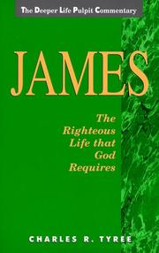 Cover of: James | Charles R. Tyree