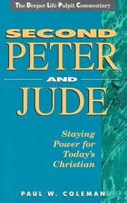 Cover of: Second Peter and Jude